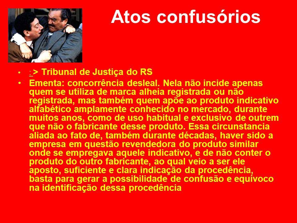 Atos confusórios : > Tribunal de Justiça do RS.
