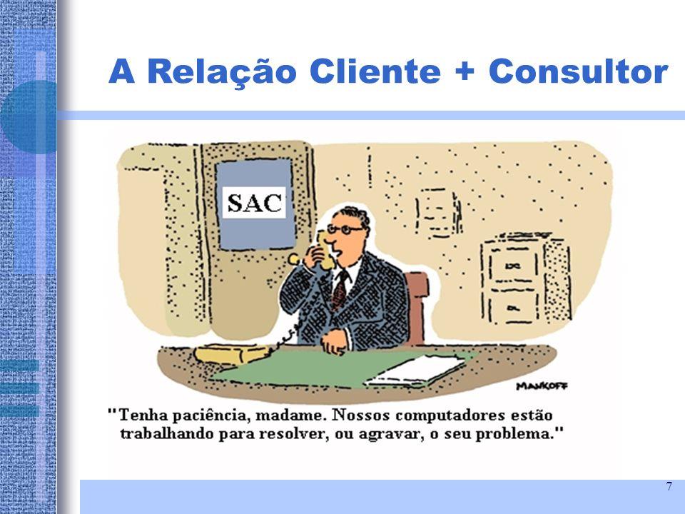 A Relação Cliente + Consultor