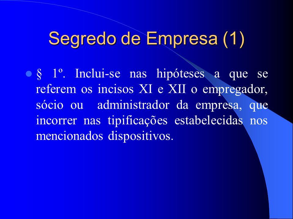 Segredo de Empresa (1)
