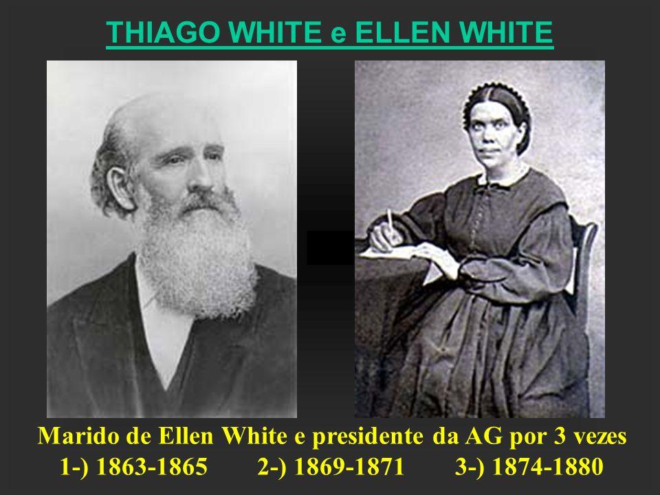 Marido de Ellen White e presidente da AG por 3 vezes