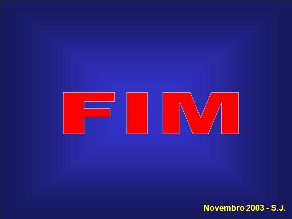 FIM Novembro 2003 - S.J.