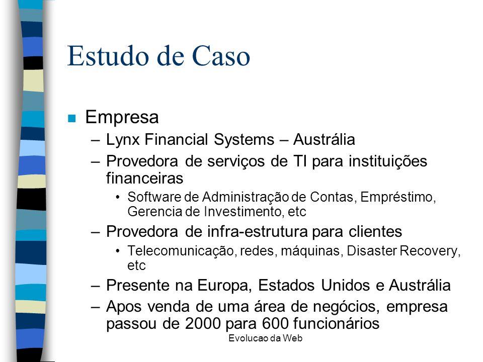 Estudo de Caso Empresa Lynx Financial Systems – Austrália