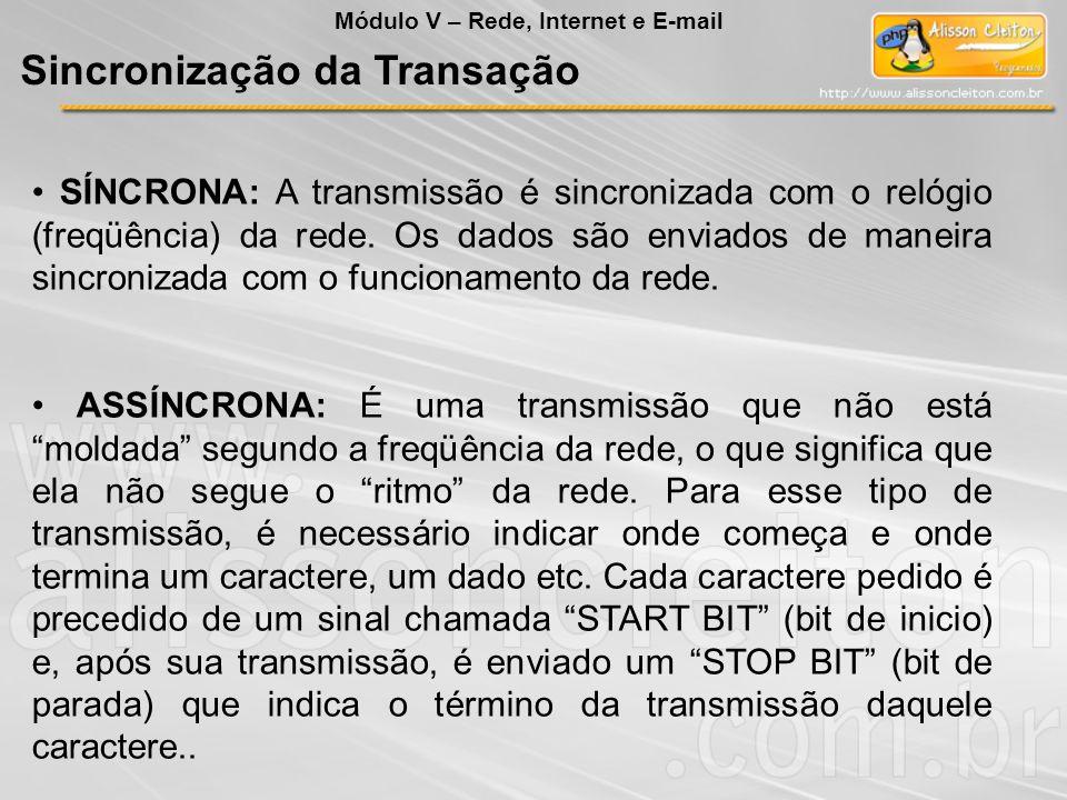 Sincronização da Transação
