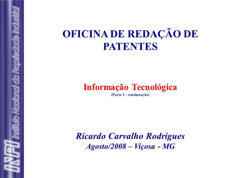 Informação Tecnológica Ricardo Carvalho Rodrigues