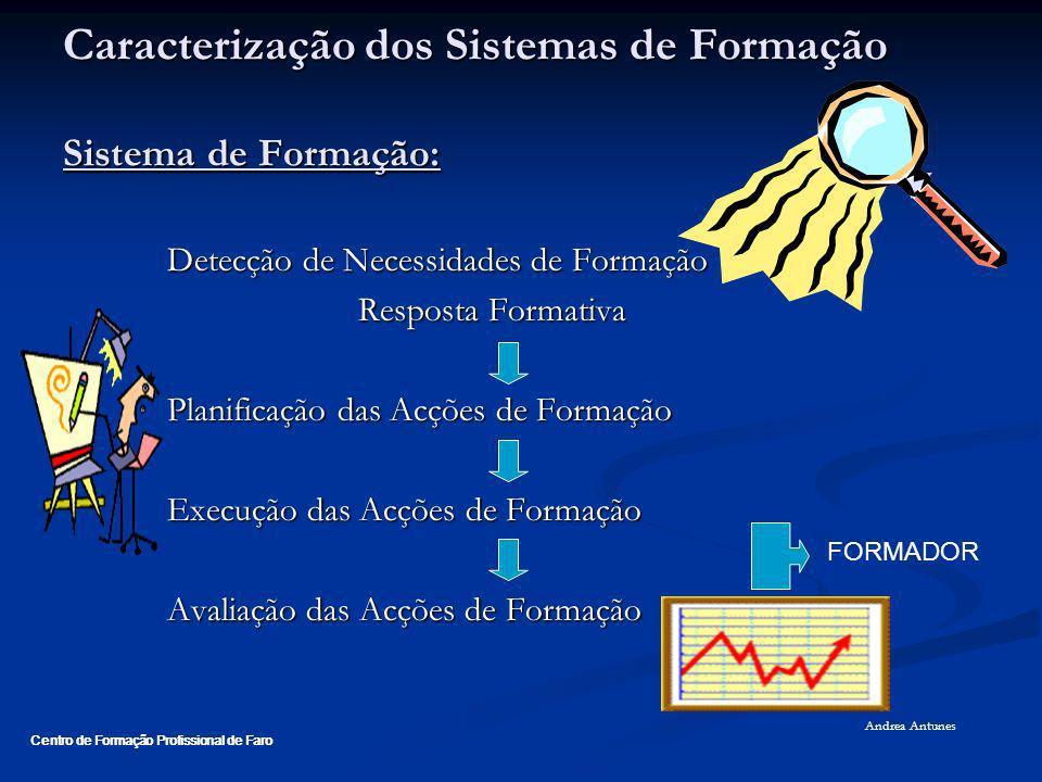 Caracterização dos Sistemas de Formação Sistema de Formação: