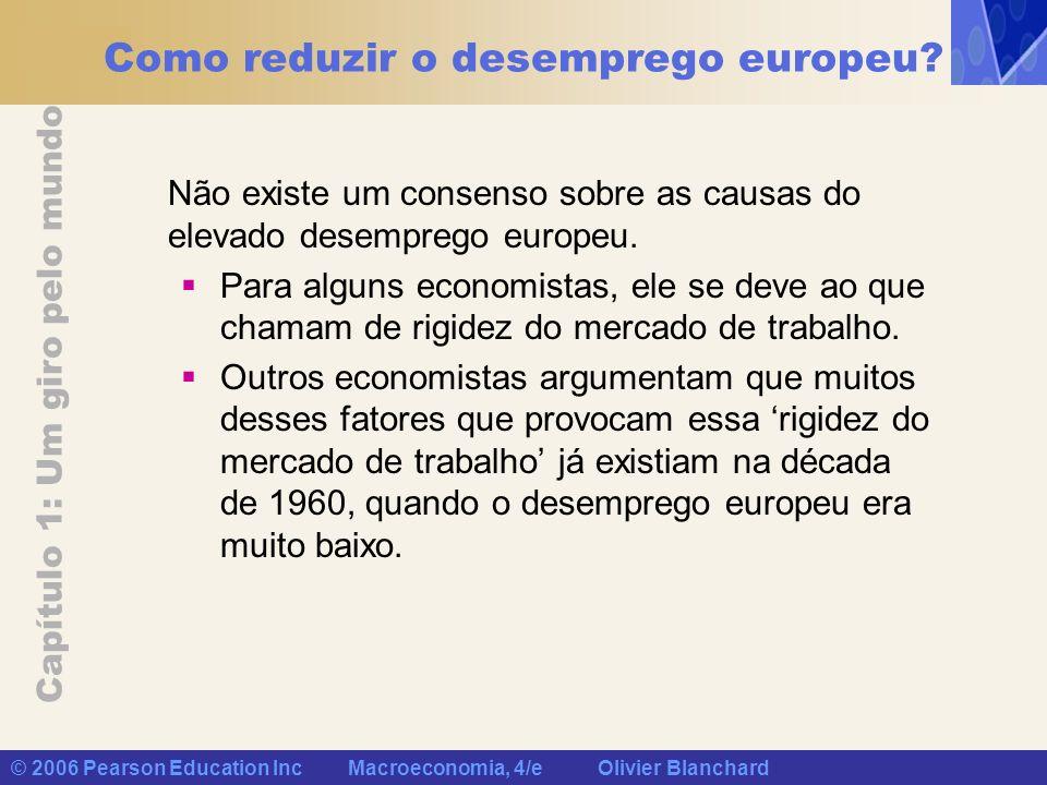 Como reduzir o desemprego europeu