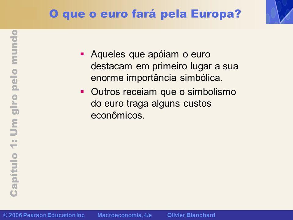 O que o euro fará pela Europa