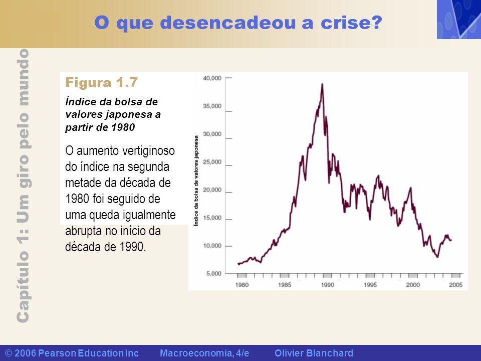 O que desencadeou a crise