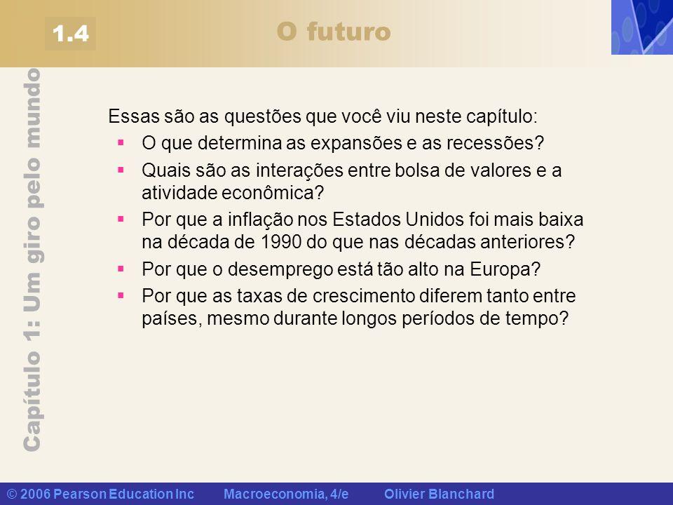 O futuro 1.4 Essas são as questões que você viu neste capítulo: