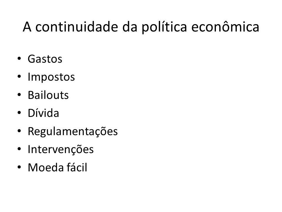 A continuidade da política econômica
