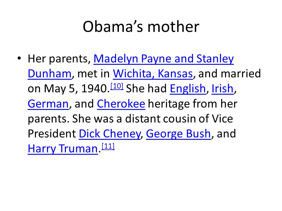 Obama's mother