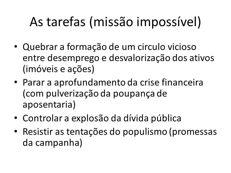 As tarefas (missão impossível)