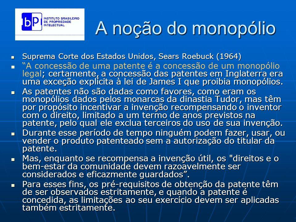 A noção do monopólio Suprema Corte dos Estados Unidos, Sears Roebuck (1964)