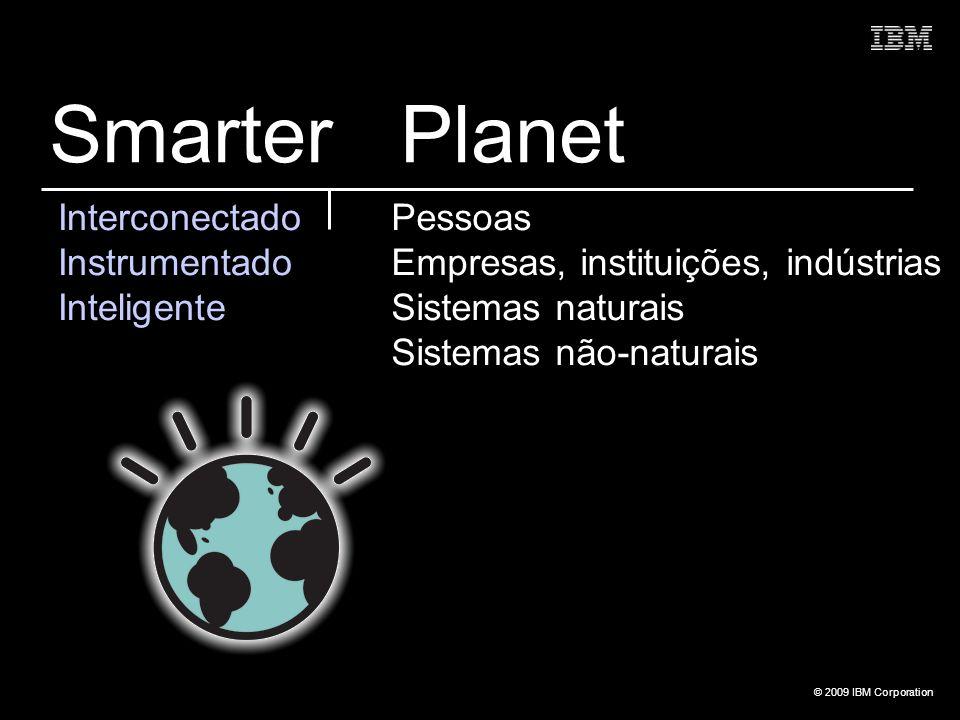 Smarter Planet Interconectado Instrumentado Inteligente Pessoas