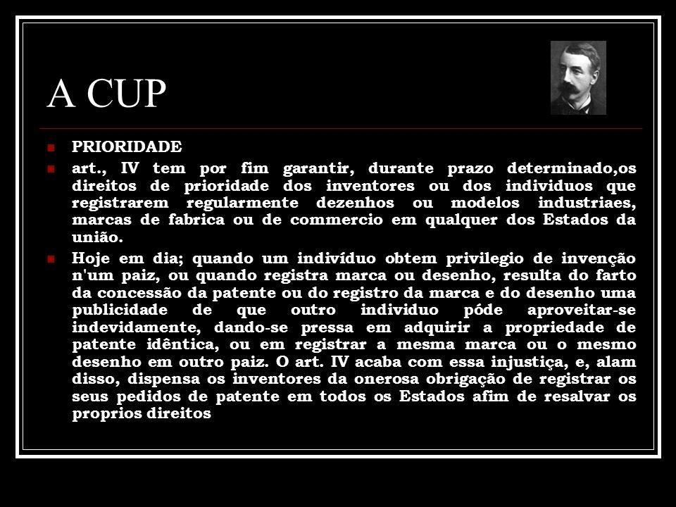 A CUP PRIORIDADE.