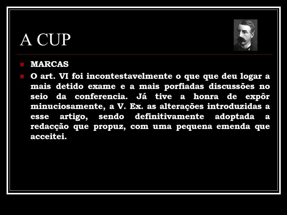 A CUP MARCAS.