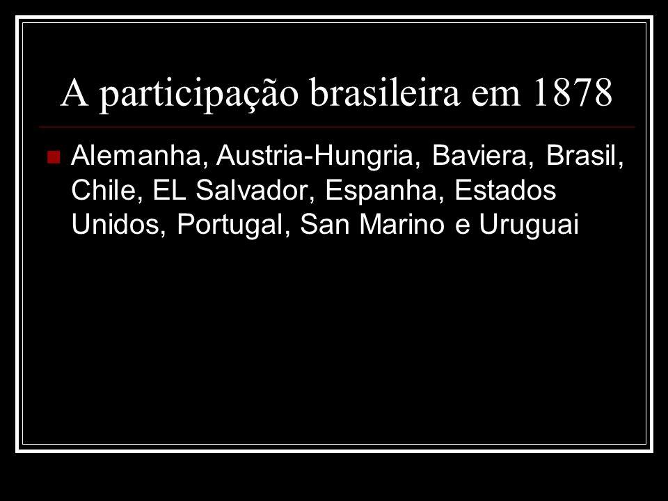 A participação brasileira em 1878