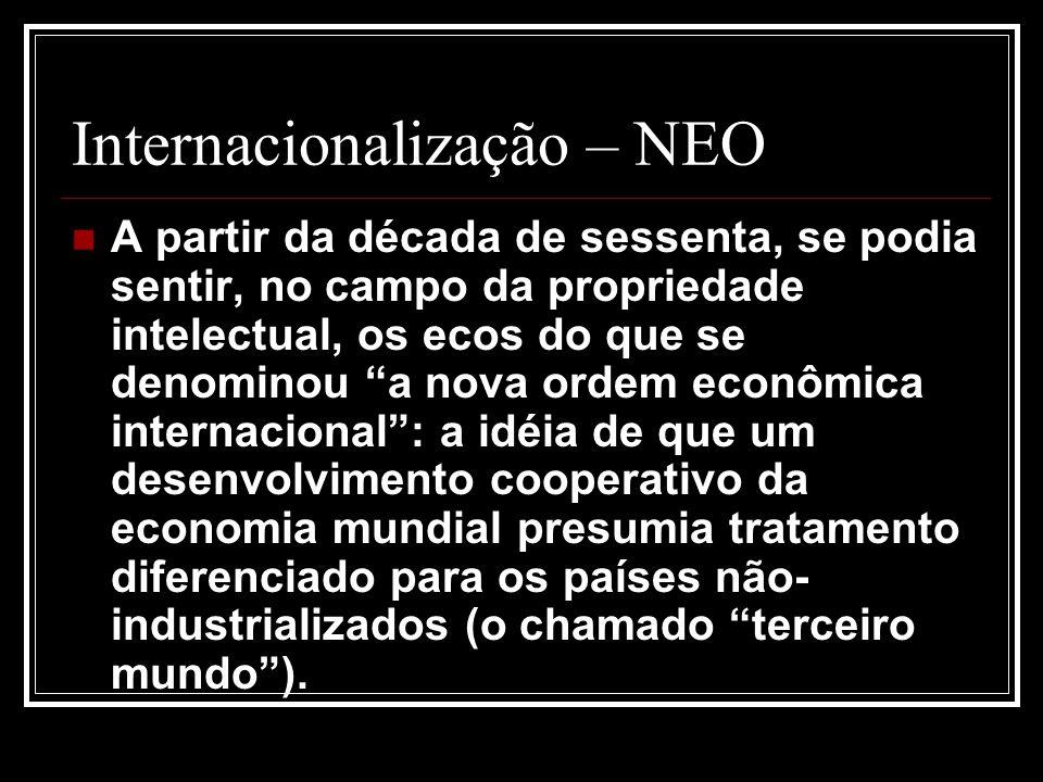 Internacionalização – NEO