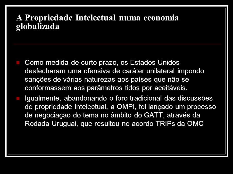 A Propriedade Intelectual numa economia globalizada