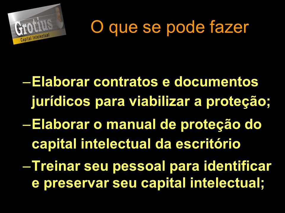 O que se pode fazerElaborar contratos e documentos jurídicos para viabilizar a proteção;