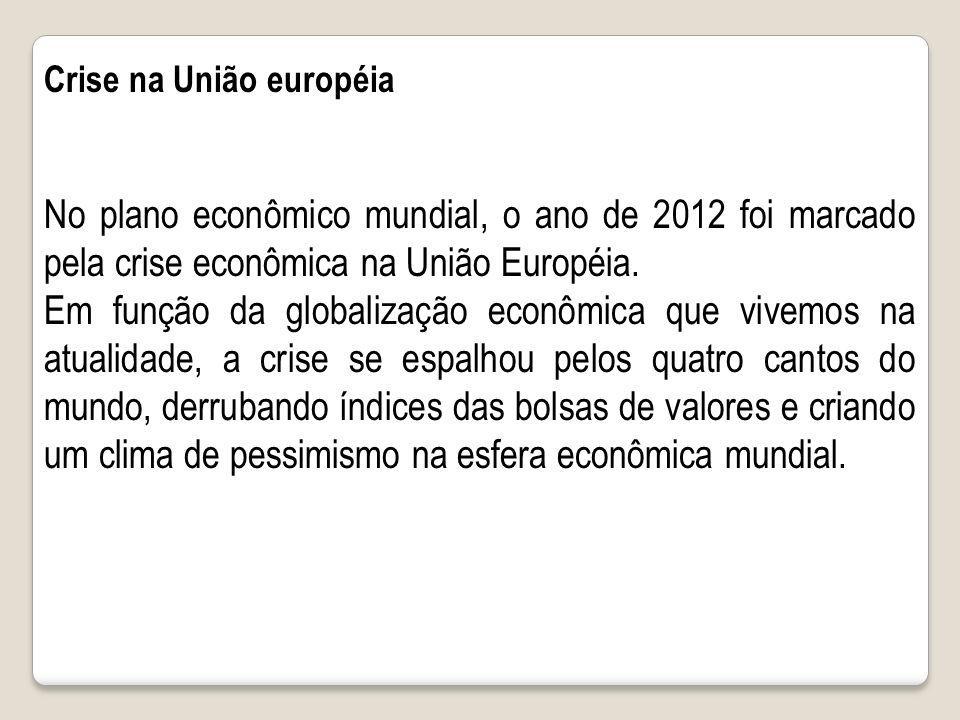 Crise na União européia