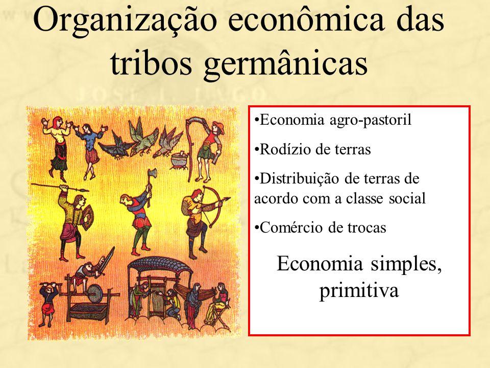 Organização econômica das tribos germânicas