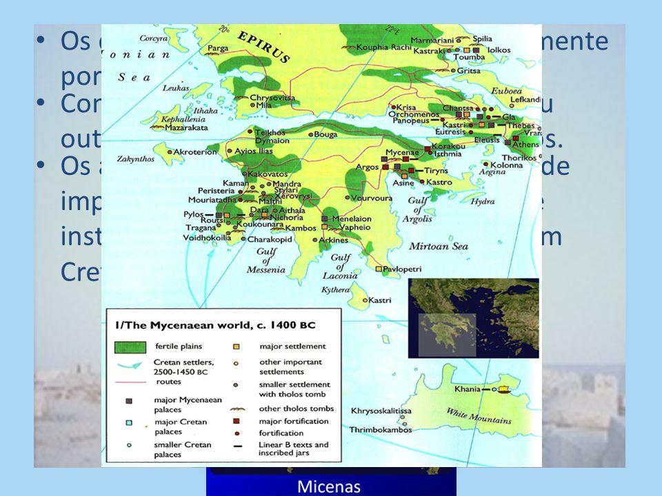 Os cretenses foram destruídos provavelmente por uma catástrofe natural.