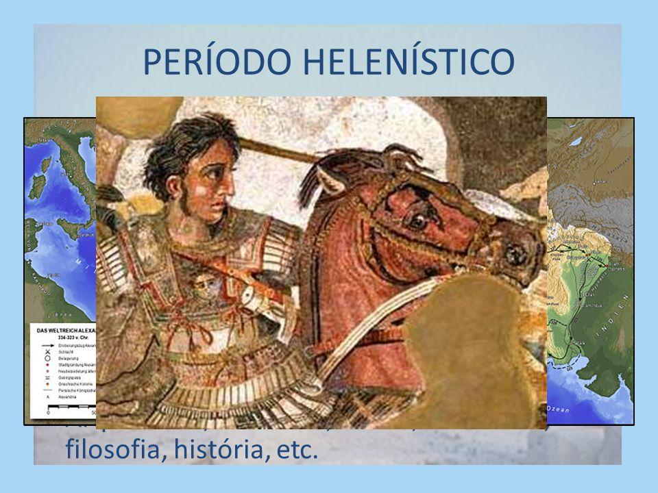 PERÍODO HELENÍSTICO Invasão dos macedônicos
