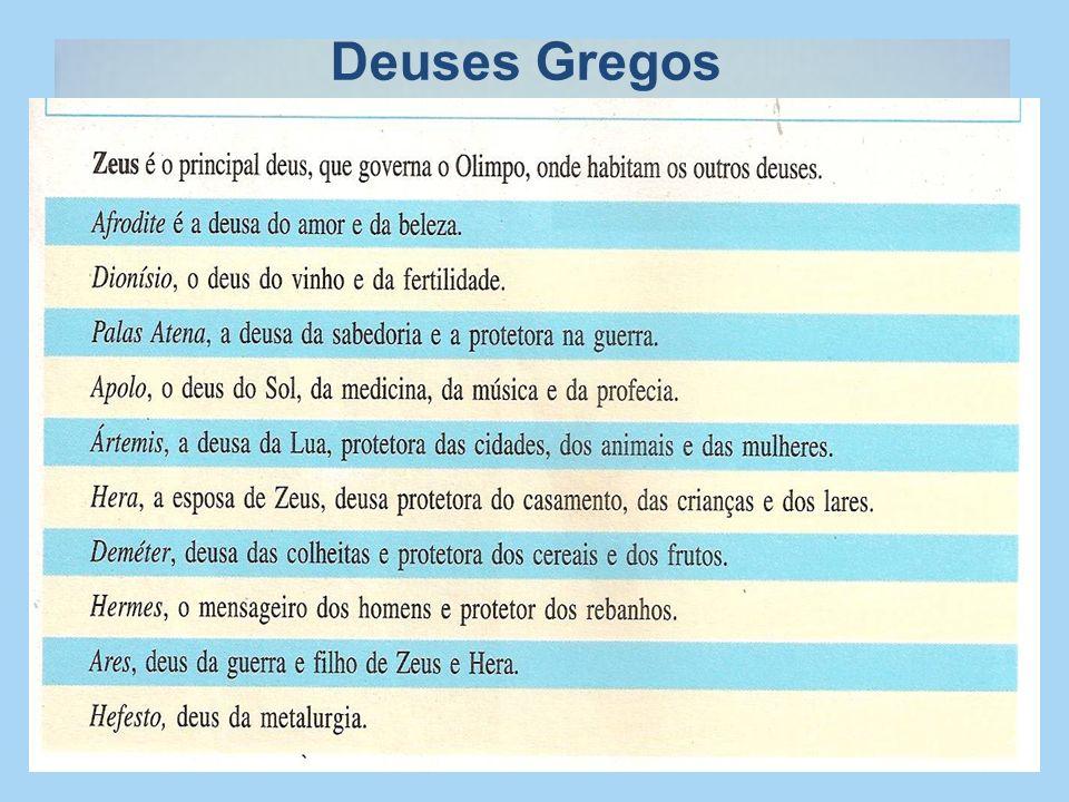 Deuses Gregos