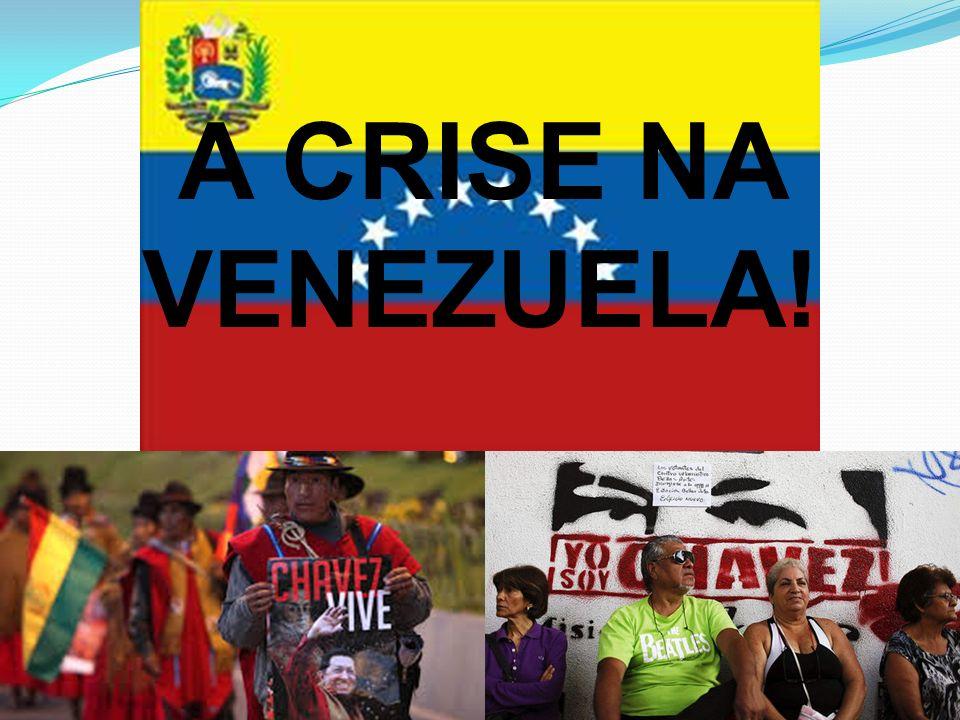 A CRISE NA VENEZUELA!