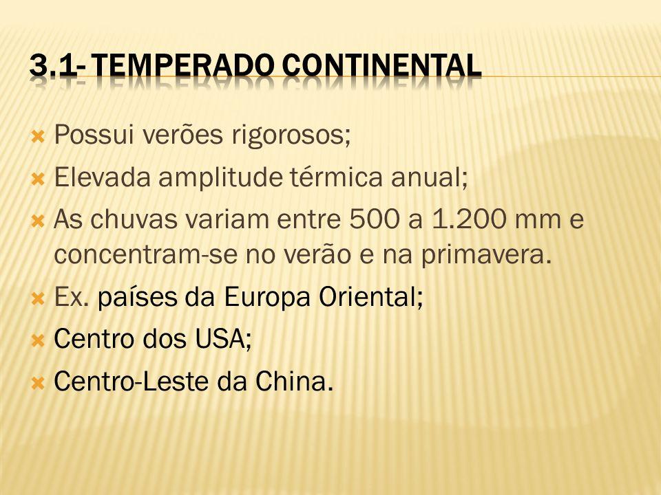 3.1- Temperado Continental