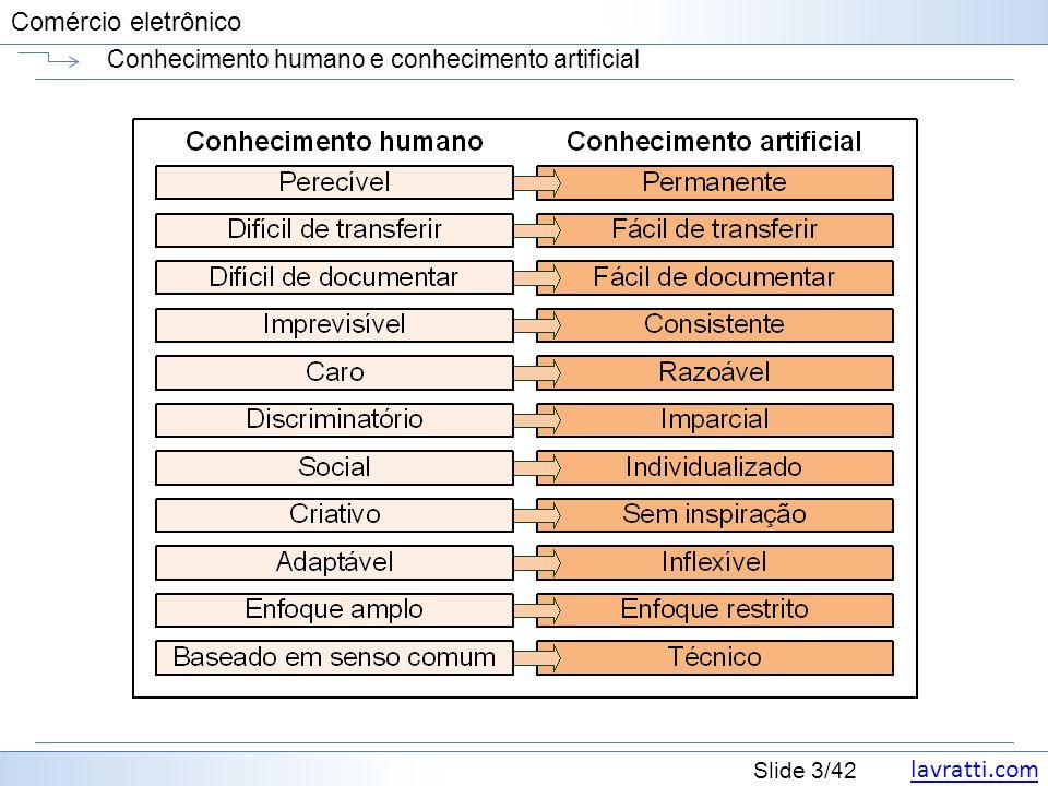Conhecimento humano e conhecimento artificial