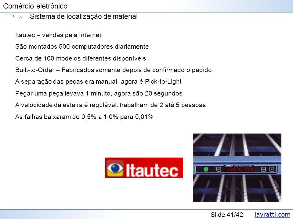 Sistema de localização de material