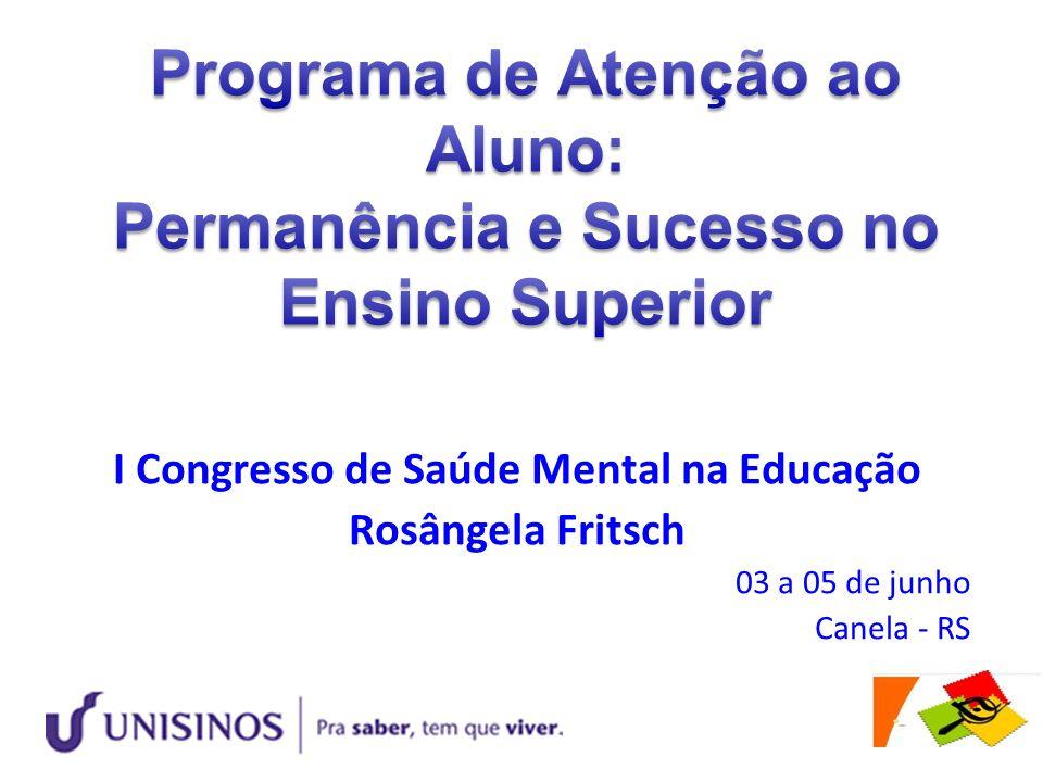 Programa de Atenção ao Aluno: Permanência e Sucesso no Ensino Superior