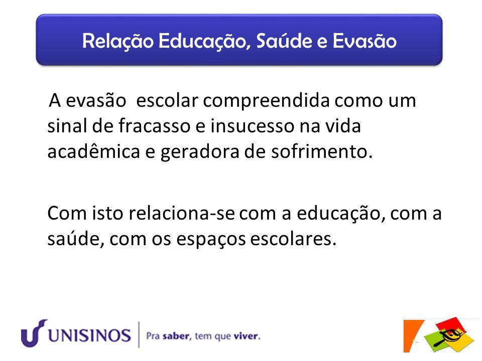 Relação Educação, Saúde e Evasão