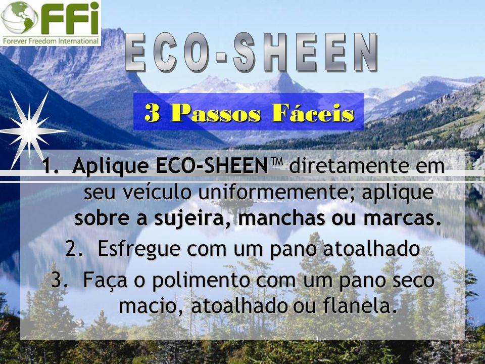 3 Passos Fáceis ECO-SHEEN