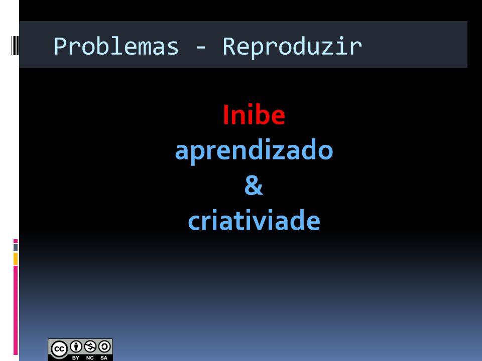 Problemas - Reproduzir