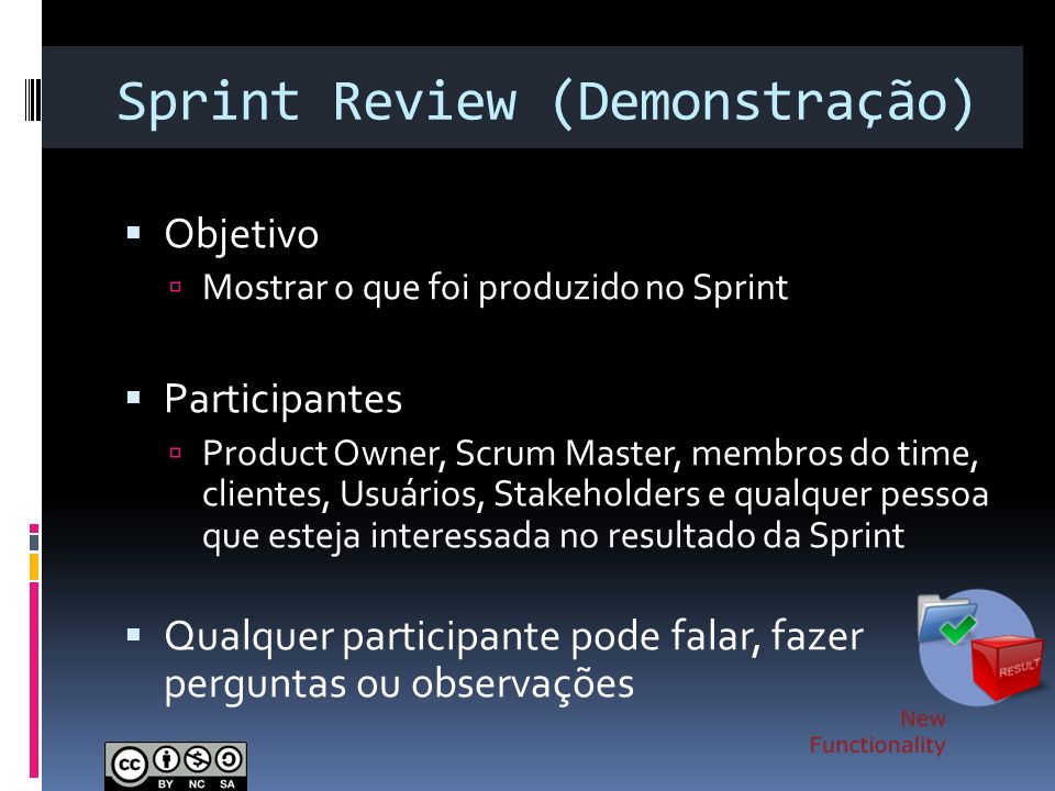 Sprint Review (Demonstração)
