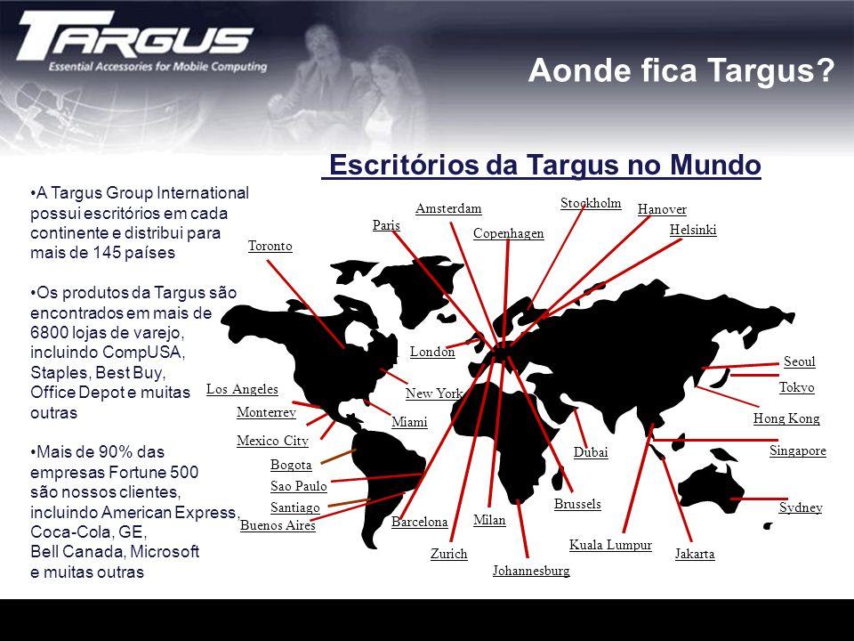 Escritórios da Targus no Mundo