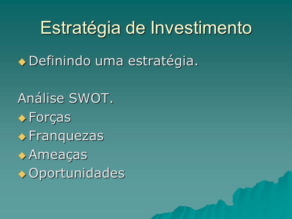 Estratégia de Investimento