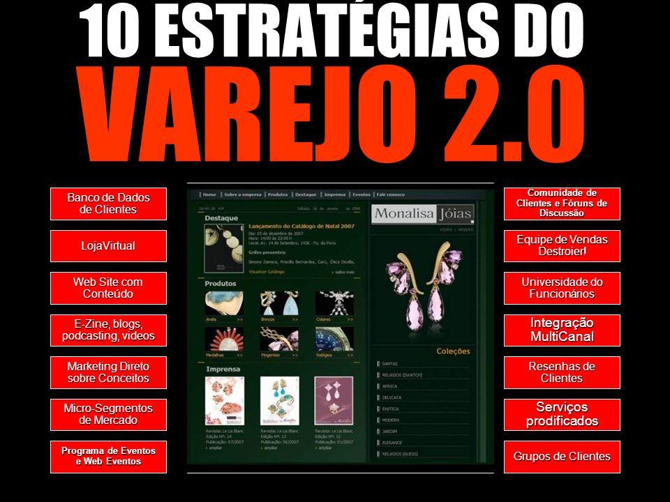 10 ESTRATÉGIAS DO VAREJO 2.0 Integração MultiCanal
