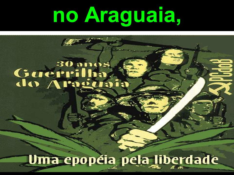 no Araguaia,