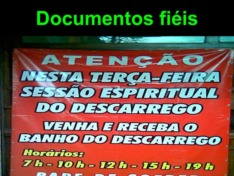 Documentos fiéis