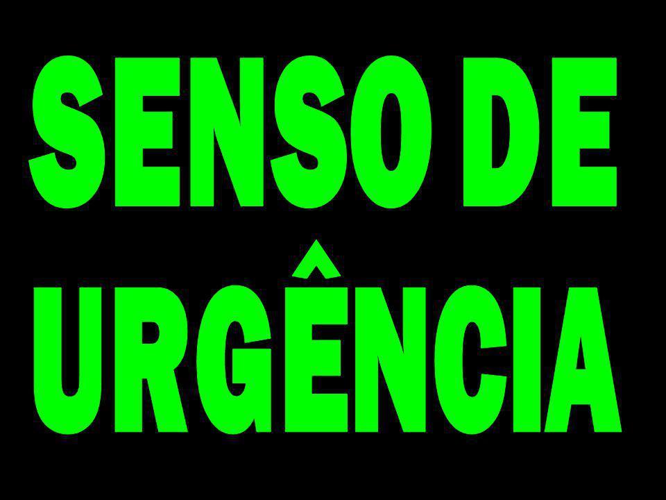 SENSO DE URGÊNCIA
