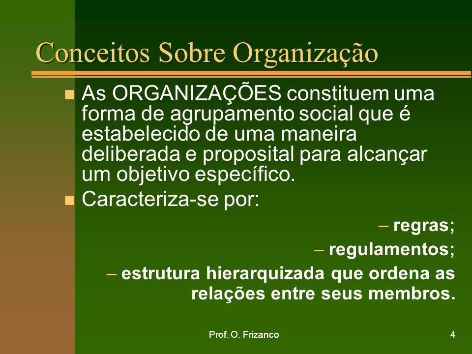 Conceitos Sobre Organização