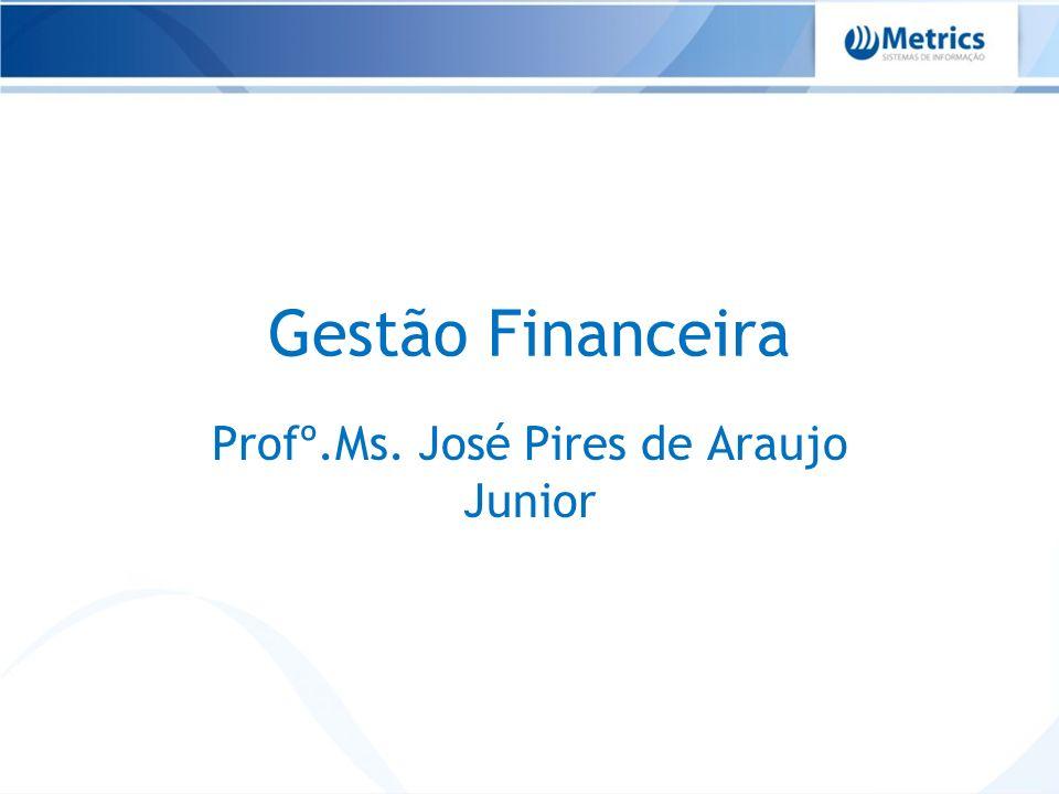 Profº.Ms. José Pires de Araujo Junior