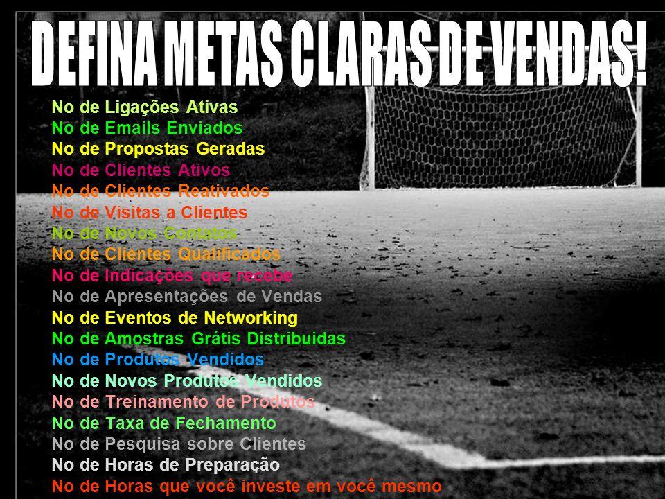 DEFINA METAS CLARAS DE VENDAS!