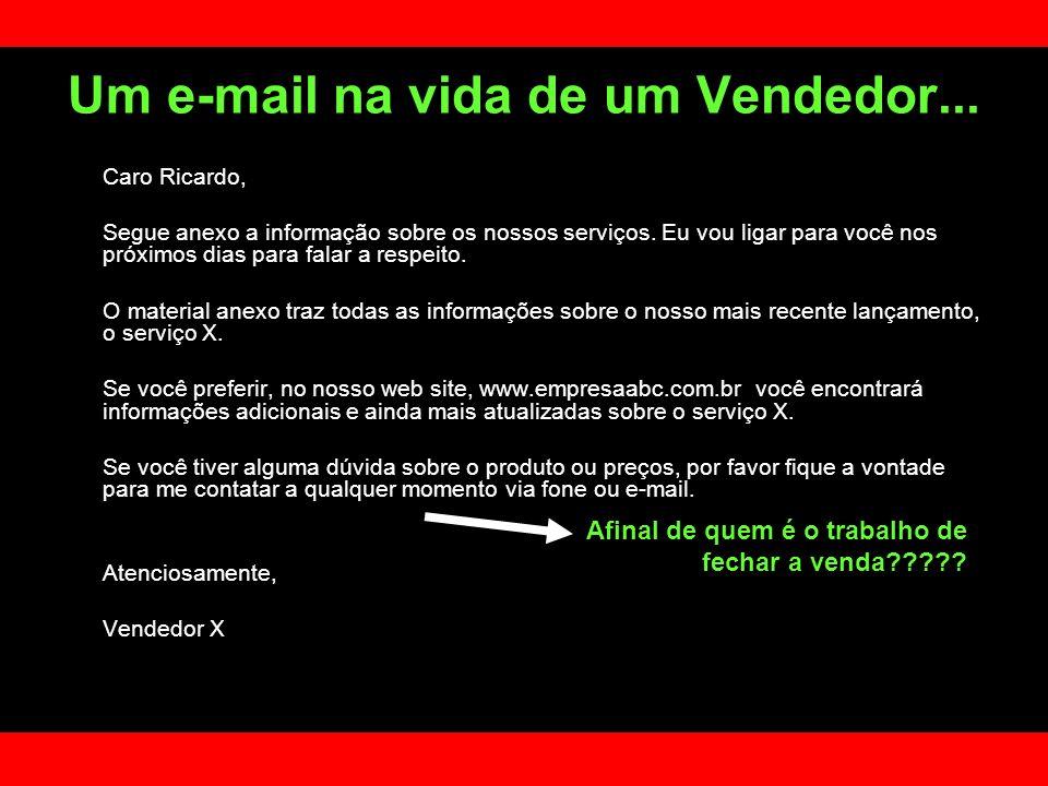 Um e-mail na vida de um Vendedor...