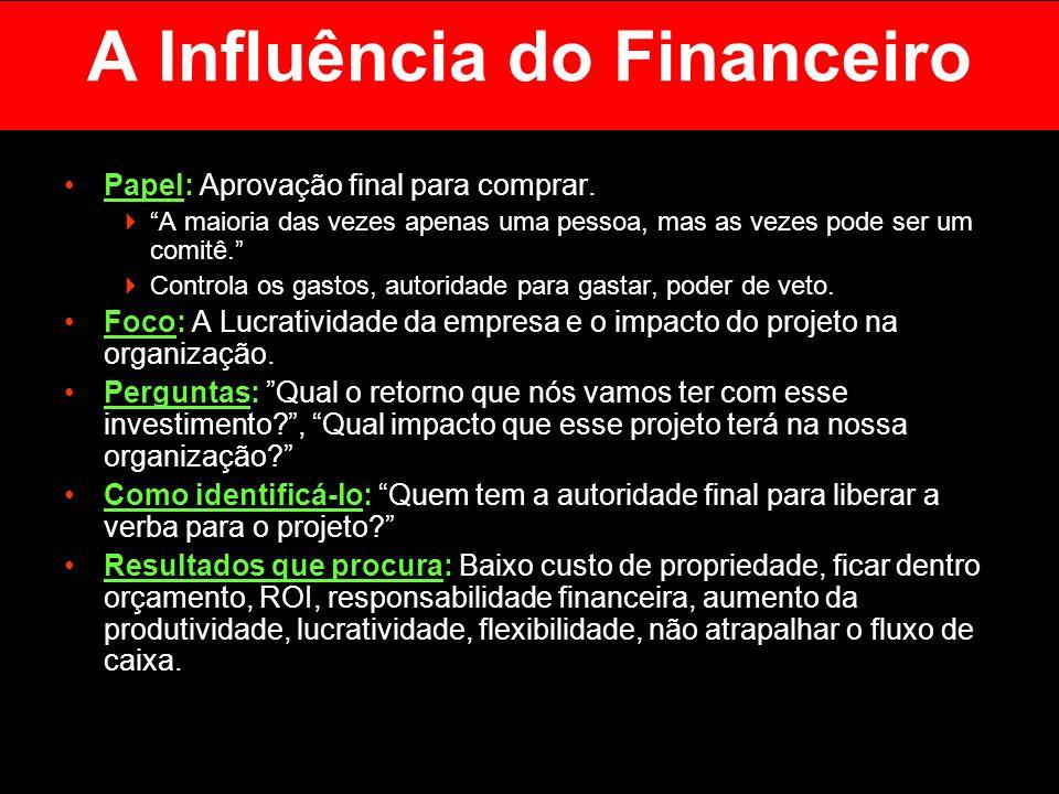 A Influência do Financeiro