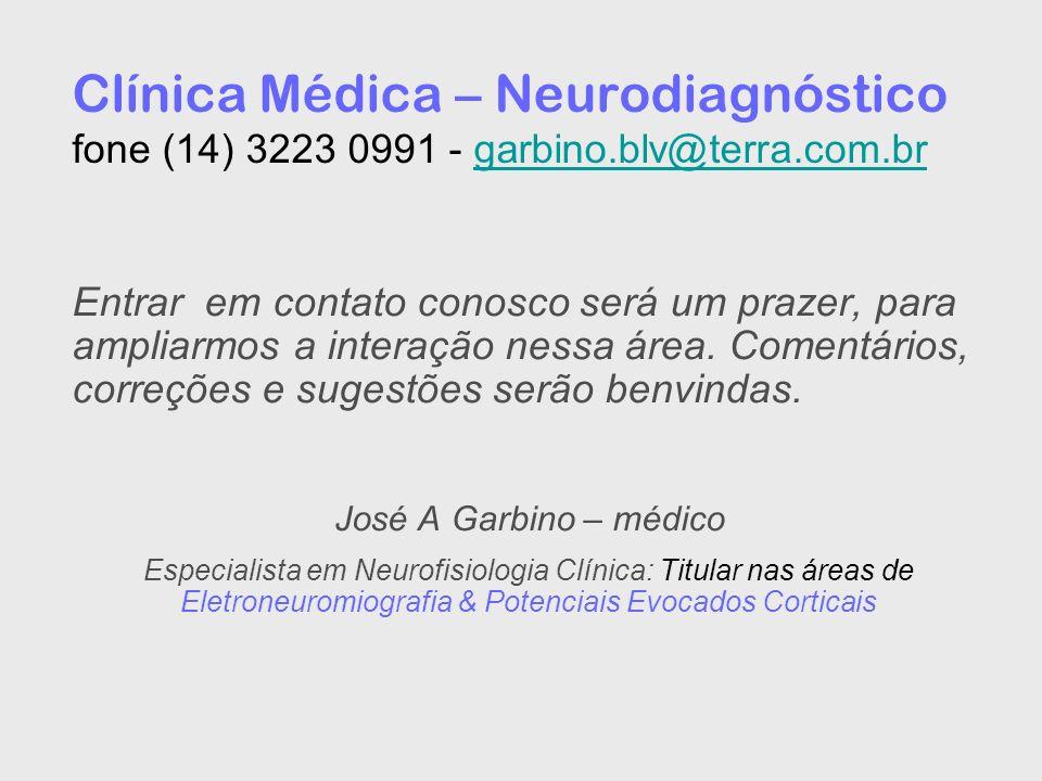 Clínica Médica – Neurodiagnóstico fone (14) 3223 0991 - garbino